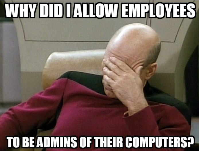 The Risks Of Having Admin Access To Your Computer