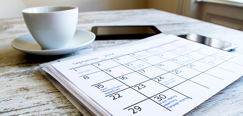 6 Tips On Managing Your Calendar